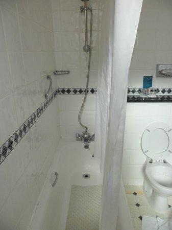 County Hotel: small bath tub