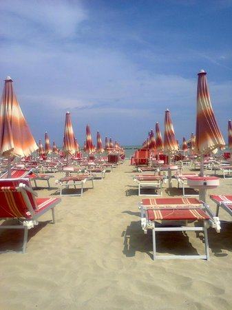 Hotel Villa Luigi: Spiaggia convenzionata con hotel a Villa Rosa