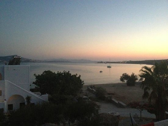 Arokaria Beach Studios: View from upper flat terrasse