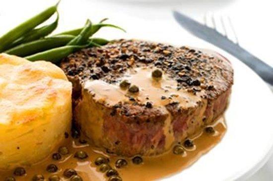 """Hotel Ristorante Messnerwirt: Un bel filetto di manzo pusterese """"Sprinzen"""" di Anterselva - non serve neanche un coltello a tag"""