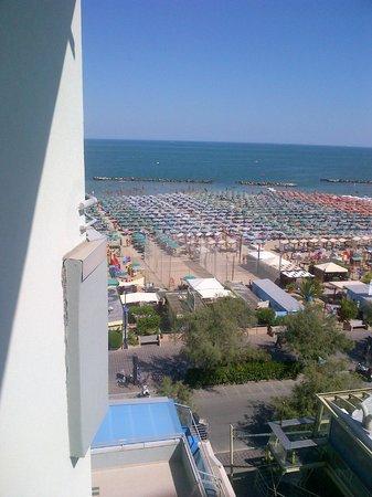 Hotel Nettuno: panorama dalla stanza 416