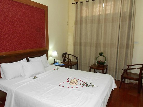 Old Quarter Cyclo Hotel: Double room