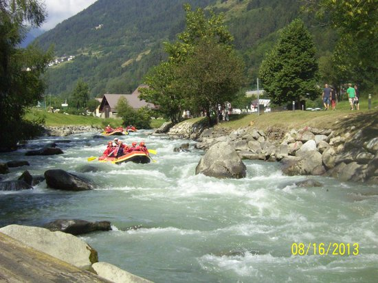 Gaia Residence Hotel: fiume noce rafting