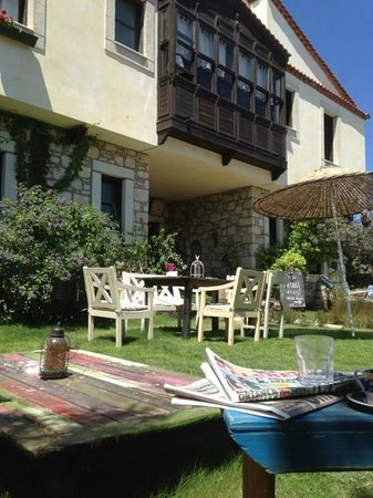 Sardunaki Konak Otel : Bahçe