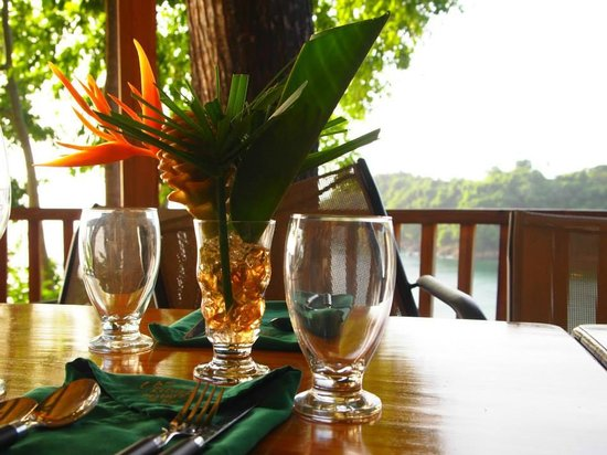 Caribbean Kitchen at Castara Retreats: Gorgeous views!