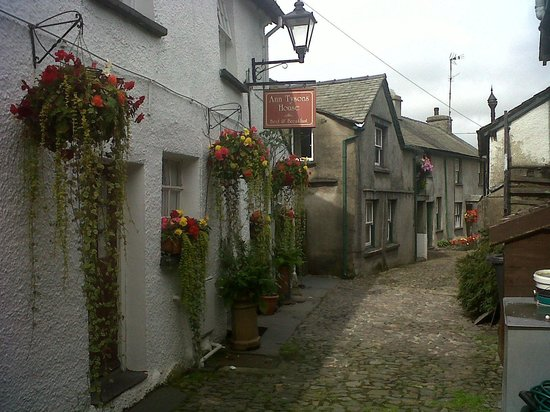 The Kings Arms Hotel : One of the streets in the  village
