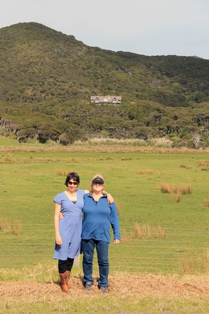 Mount St. Paul Estate: mother and daughter escape , Mt St Paul sits overlooking Claris and the windswept sand dunes and