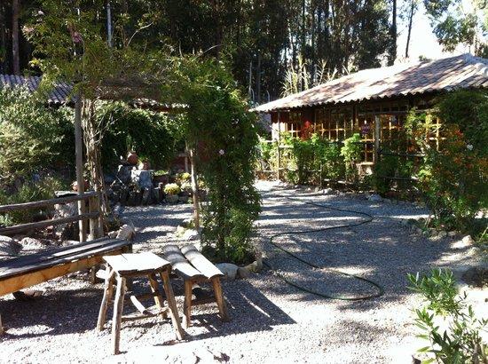 Casa Colibri eco-Lodge: jardim