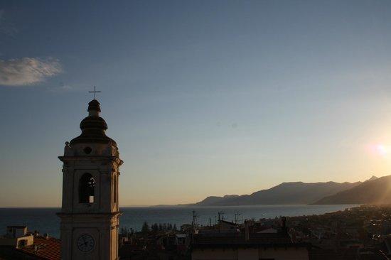 Vista dalla terrazza all\'ora del tramonto - Foto di La Terrazza di ...