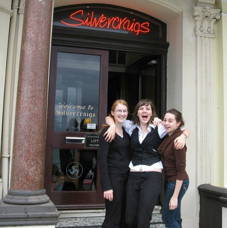 Silvercraigs: Staff: expect superior personal service!