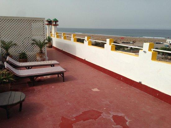Auberge de la Plage : La terrazza