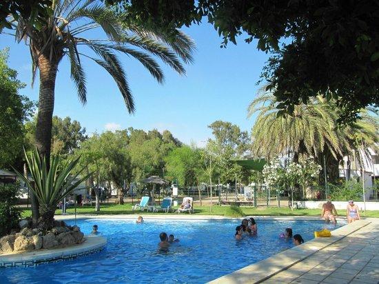 Camping Valle Niza Playa: piscina