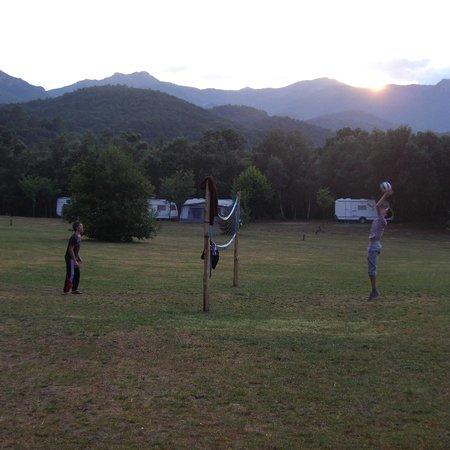 Camping Macanet de Cabrenys : volley