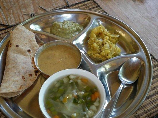 AmrtaSiddhi Ayurvedic Health Centre: lunch