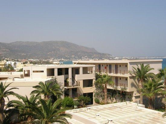Dessole Malia Beach Hotel: View from the apartment