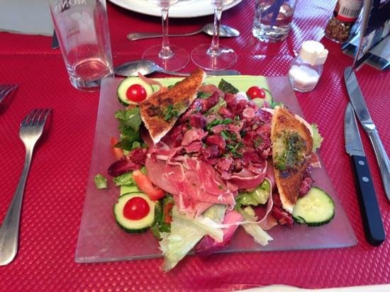 salade landaise - photo de le jardin, guise - tripadvisor