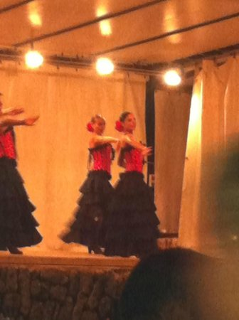 San Miguel Park / Esmeralda Mar Apartamentos: Spanish night at hotel with FLAMENCO -