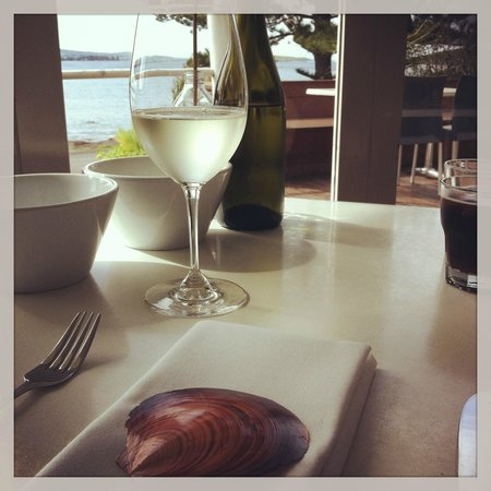 Eat at Whalers restaurant: delightful setting