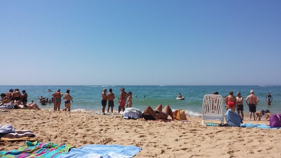Bayside Salgados: Nearest beach (10 min walk)