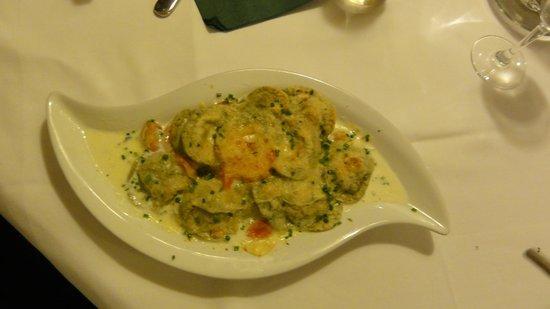 Restaurant Steinbock: ravioli alle ortiche