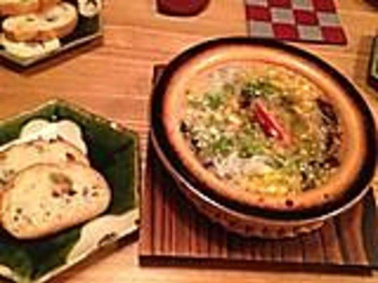 Seika Jiyugaokaten: しらすとトウモロコシのあひーじょ