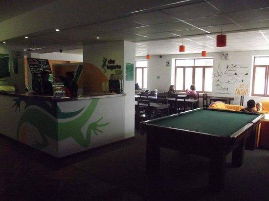 Che Lagarto Hostel Lima: Saguão