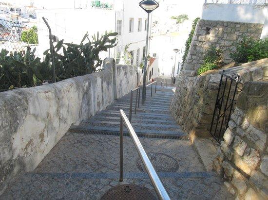 Cerro Mar Atlantico Touristic Apartments: Dreaded steps