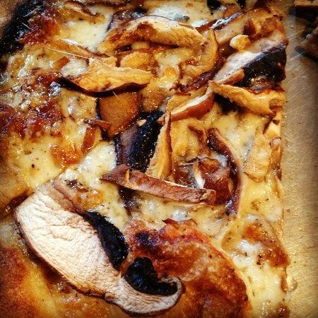 Depot Cafe: Wild Mushroom Flatbread