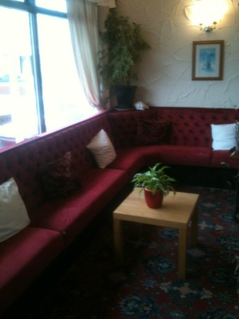 Windsor Hotel: reading area