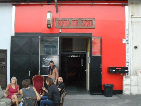 Le brin de zinc barberaz restaurant avis num ro de for Interieur zinc