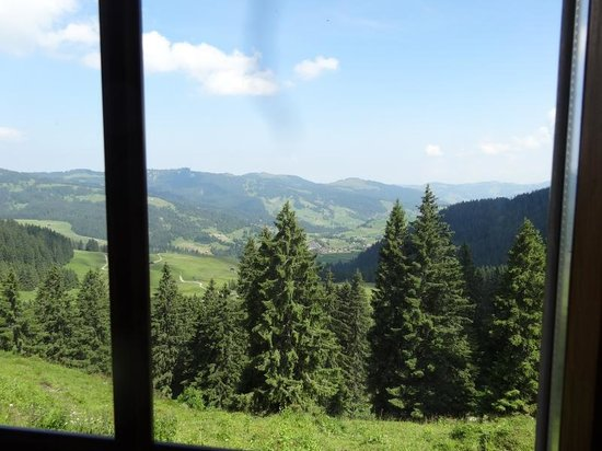 Hoch Ybrig: Some of the View - Oberiberg from the Restaurant