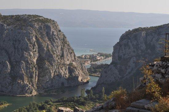 Campeggio Galeb Omis Split Croazia