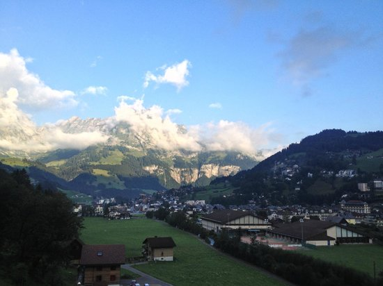 Hotel-Restaurant Banklialp: The view