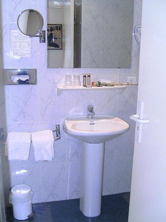 Hotel Albert 1er : Baño