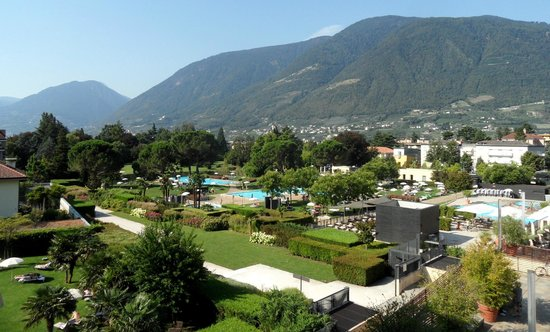 Hotel Therme Meran: The thermal spa area