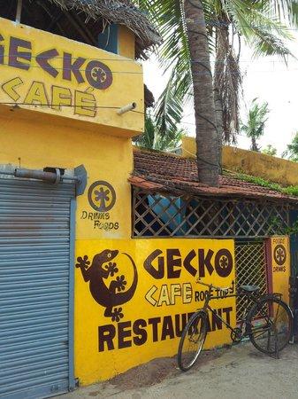 Gecko Cafe: Façade