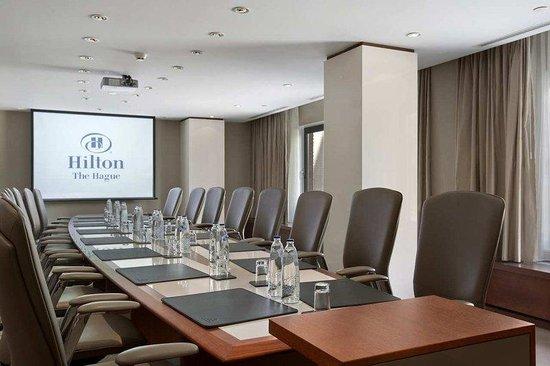 Hilton The Hague: Platinum Boardroom