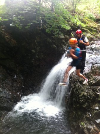 Adventure Today: Ghyll Scrambling!