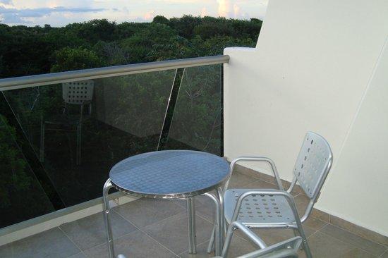 Grand Sirenis Riviera Maya Resort & Spa: La terraza de la habitación