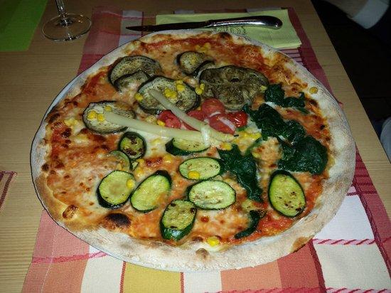 Waldschenke: Pizza alle verdure