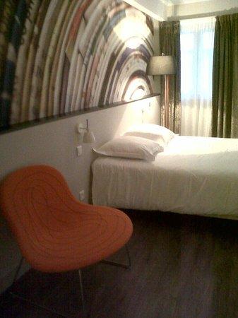Hotel de la Presse: Chambre
