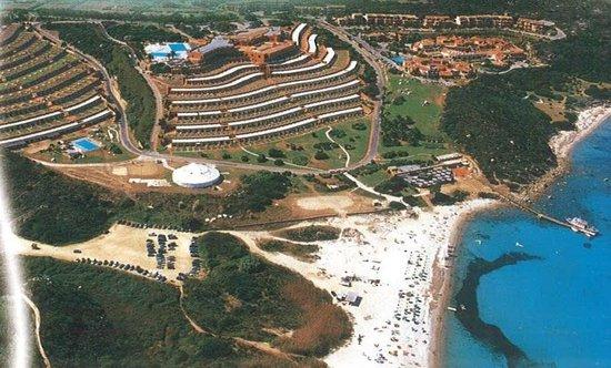 Marmorata Village : vista aerea del complesso