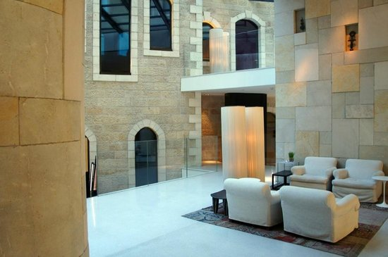 Mamilla Hotel : Le lobby