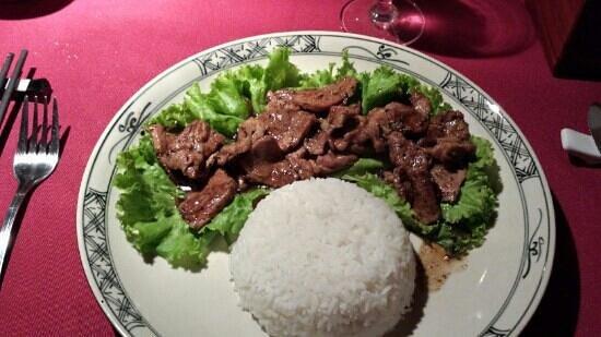 Paris Saigon: Glazed pork