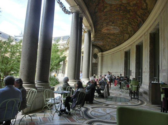 Cafe le jardin du petit palais paris champs elysees for Cafe du jardin london