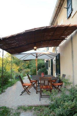 La Bouquiere : breakfast terrace