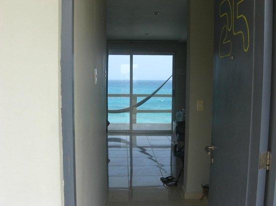 Hotel Rocamar : Au seuil de la porte de chambre