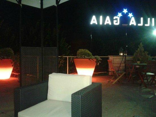 Hotel Villa Gaia: Terrazza