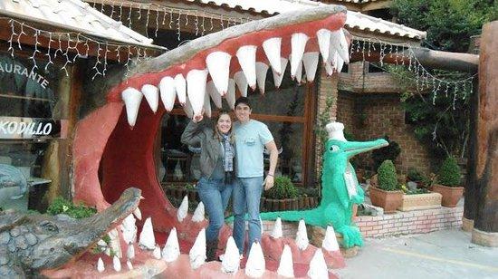 Restaurante Krokodillo I: Entrada do restaurante!!!