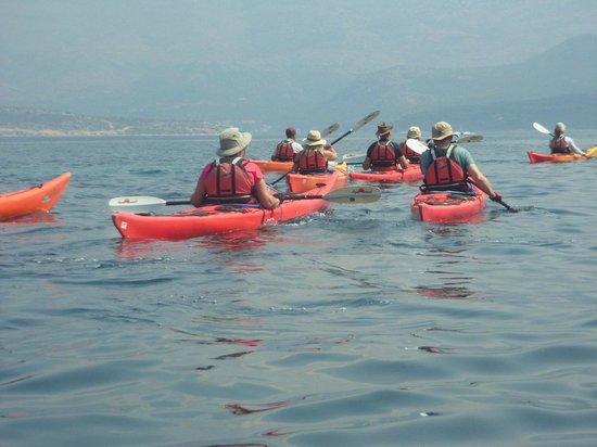 Adria Adventure Sea Kayaking: On the way back to Lopud